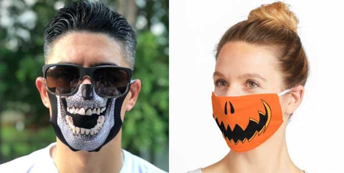 Mascarillas para Halloween 2020