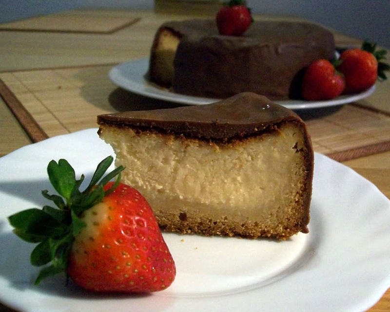 tarta-de-queso-con-chocolate