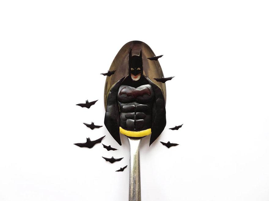 Food Art : el arte de la comida en cucharas 13