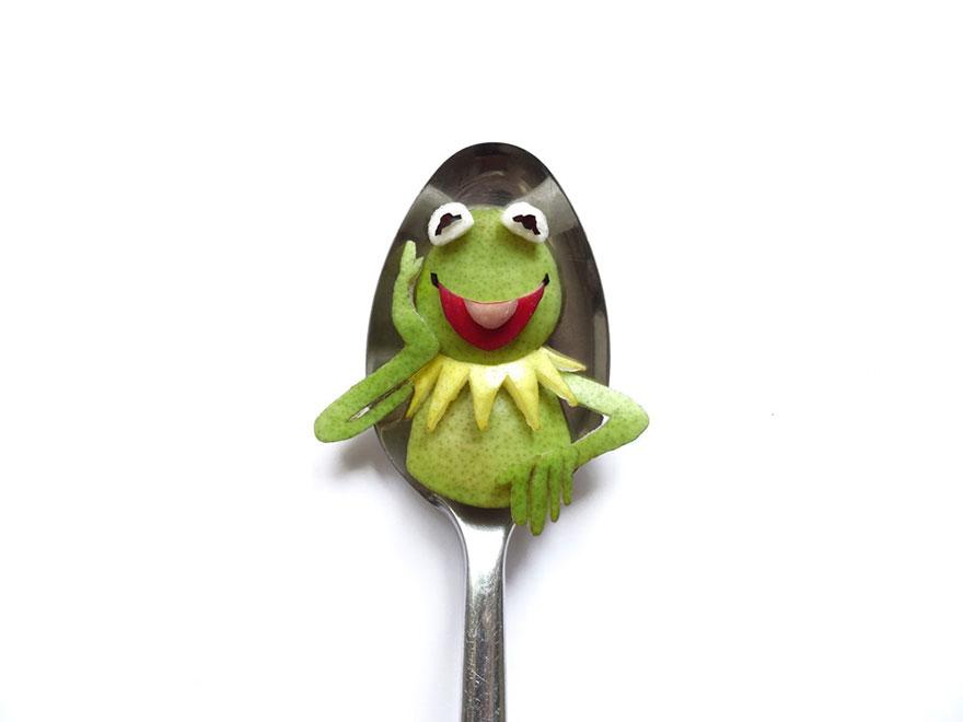 Food Art : el arte de la comida en cucharas 9