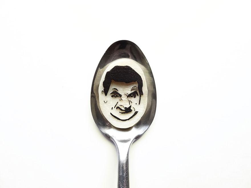 Food Art : el arte de la comida en cucharas 8