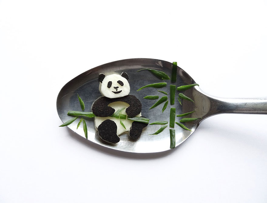 Food Art : el arte de la comida en cucharas 7