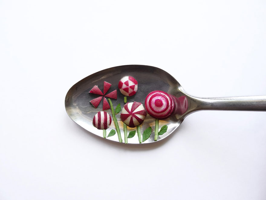 Food Art : el arte de la comida en cucharas 5