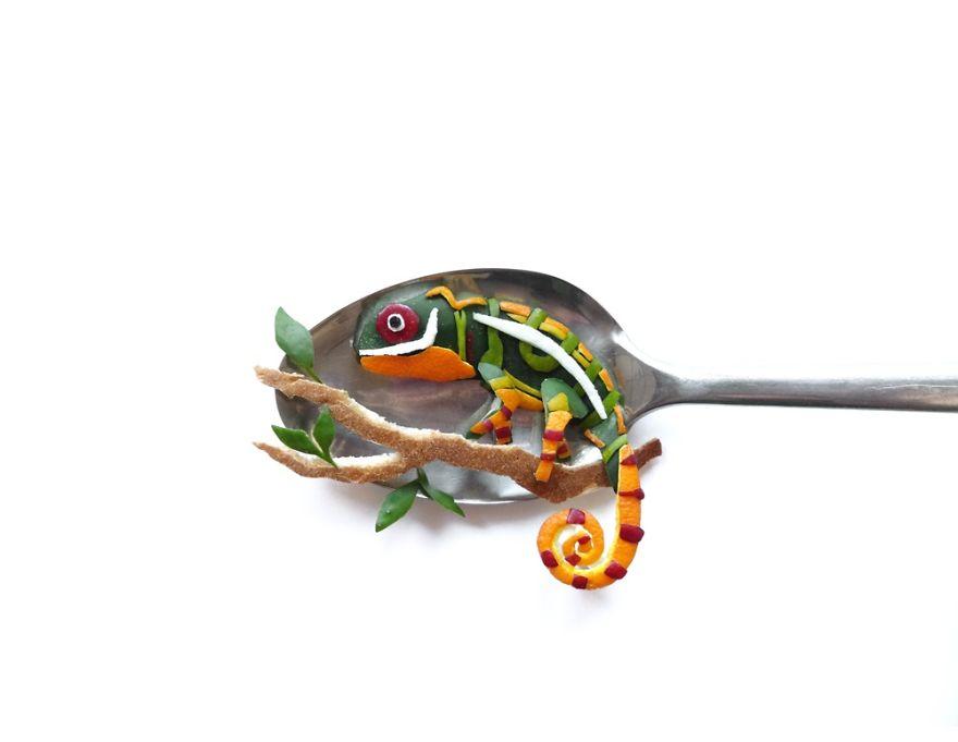 Food Art : el arte de la comida en cucharas 22