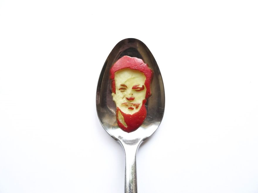Food Art : el arte de la comida en cucharas 20