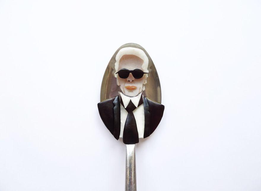 Food Art : el arte de la comida en cucharas 19