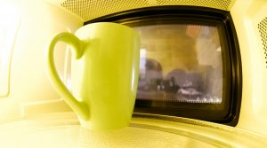 snacks a la taza con microondas