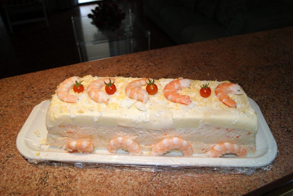 """""""Sandwichón"""": pastel salado frío, ¡fácil y rápido! 4"""