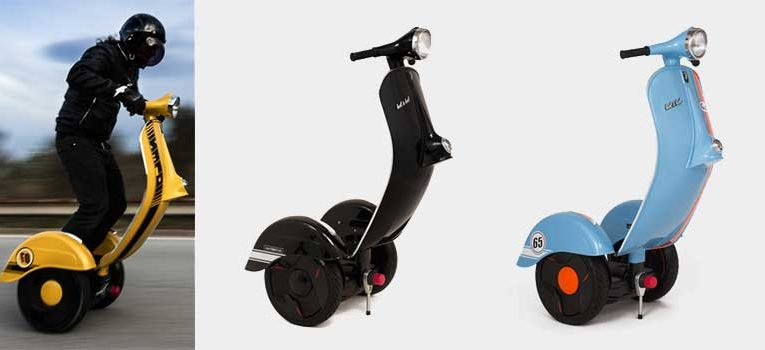 La scooter de última generación