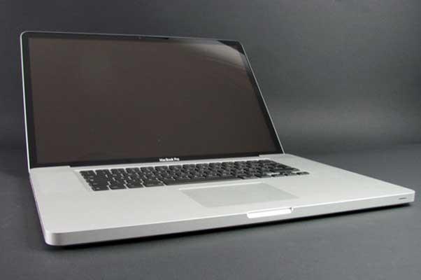actualizar macbook pro 17 pulgadas