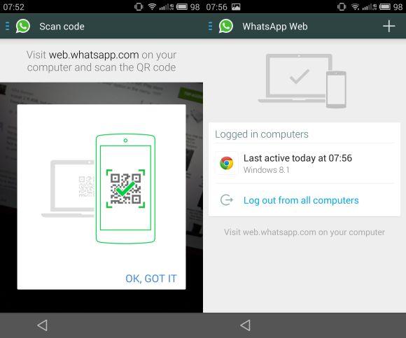 ¿Cómo activar WhatsApp Web? 1