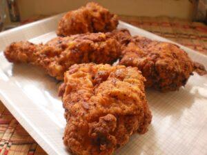 Receta Pollo frito estilo KFC