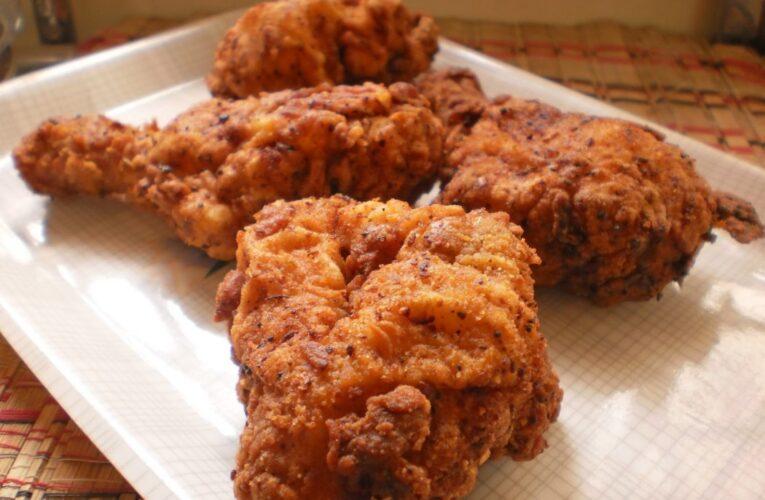 Receta: Pollo frito estilo KFC