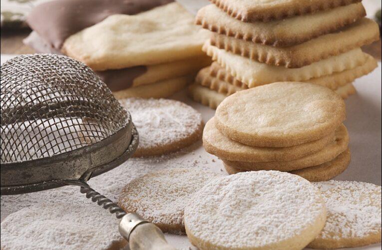 Receta: galletas inglesas de mantequilla