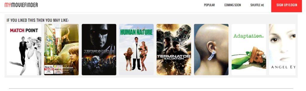 Este recomendador de películas te encantará 5