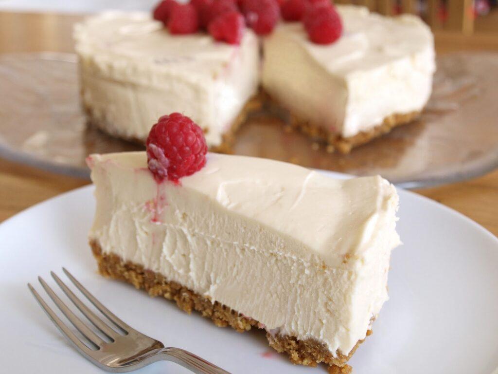 Receta: tarta de chocolate blanco (sin horno) 6